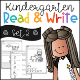 Kindergarten Read and Write Set 2