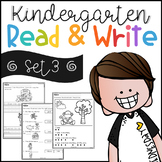 Kindergarten Read and Write Set 3