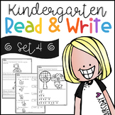 Kindergarten Read and Write Set 4