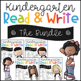 Kindergarten Read and Write The Bundle