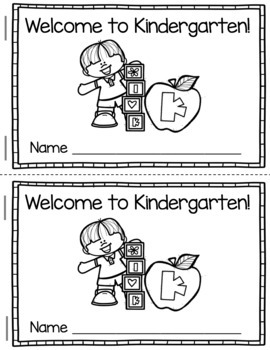 Kindergarten Back to School - Guided Reading Comprehension - Writing Sight Words