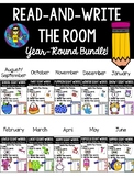 Kindergarten Read-and-Write-the-Room All Year Long BUNDLE