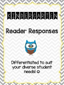 Kindergarten Reader Responses