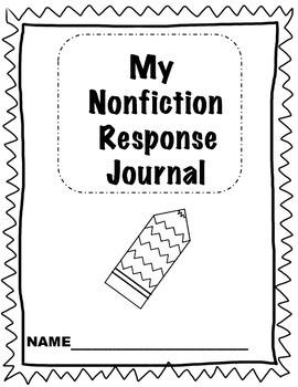 Kindergarten Readers Response Journal Bundle (fiction and nonfiction)