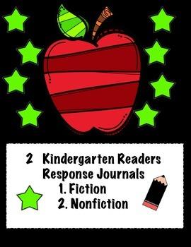 Kindergarten Readers Response Journal Bundle (fiction and