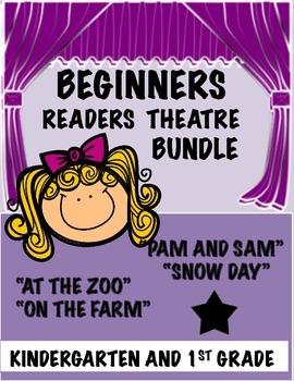 Beginners Readers Theatre Bundle (Kindergarten,1st Grade)