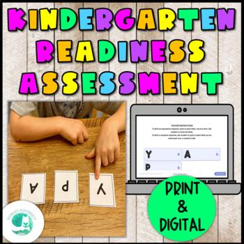 Kindergarten Readiness Assessment & Worksheets | TpT