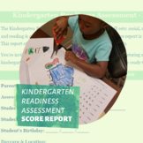 Kindergarten Readiness Assessment Score Report