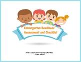 Kindergarten Readiness Assessment and Checklist