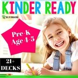 Kindergarten Readiness Digital Learning Bundle for Preschool