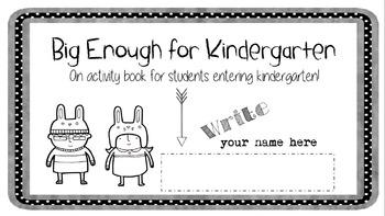 Kindergarten Readiness Pack