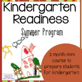 Kindergarten Readiness Packet (Summer Pre-K Program)