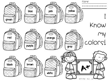 Kindergarten Readiness SAMPLE Bundle