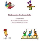 Kindergarten Readiness Skills Resource- Flashcards and Worksheets