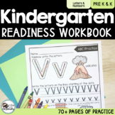 Kindergarten Readiness Workbook