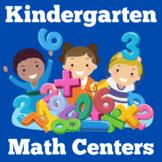 Kindergarten Math Centers | Numbers | Activities BUNDLE