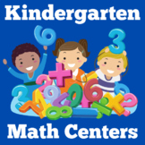 Kindergarten Centers Beginning of Year BUNDLE