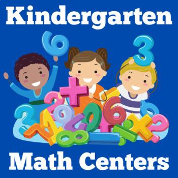 Kindergarten Centers | Kindergarten Math Centers | Kinderg