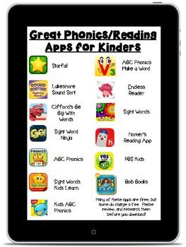 Kindergarten Reading Apps