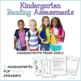 Kindergarten Reading Assessments