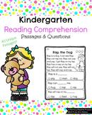 Kindergarten Reading Comprehension