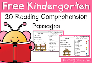 Free Kindergarten Reading C... by Teaching Biilfizzcend | Teachers ...