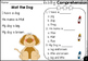 Free Kindergarten Reading Comprehension and Questions