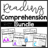 #loveliteracy Kindergarten Reading Comprehension Passages