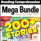 Kindergarten Reading Comprehension NO-PREP ALL-IN-ONE MEGA