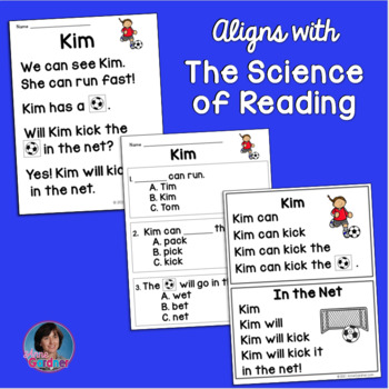 Kindergarten Reading Compre... by Anne Gardner | Teachers Pay Teachers