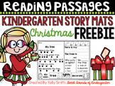 Kindergarten Reading Comprehension Passages {Christmas FREEBIE}