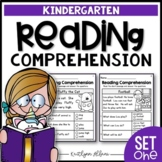 Kindergarten Reading Comprehension Passages - Set 1   Distance Learning