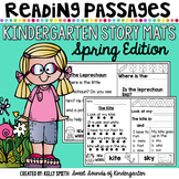 Kindergarten Reading Comprehension Passages {Spring}