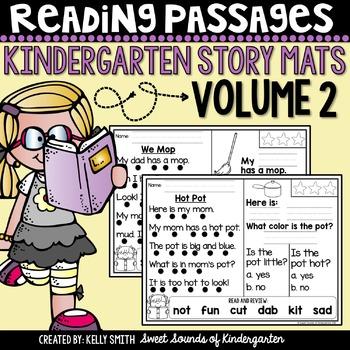 Kindergarten Reading Comprehension Passages {Volume 2}