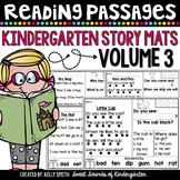 Kindergarten Reading Comprehension Passages {Volume 3}