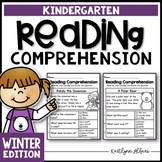Kindergarten Reading Comprehension Passages - Winter Edition