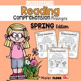 Kindergarten Reading Comprehension (Spring)