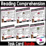 Kindergarten Reading Comprehension Task Cards- BUNDLE