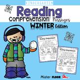 Kindergarten Reading Comprehension (Winter)