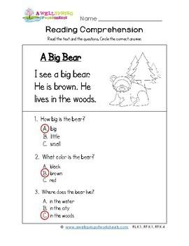 original 4058750 4 - Kindergarten Literacy Worksheets