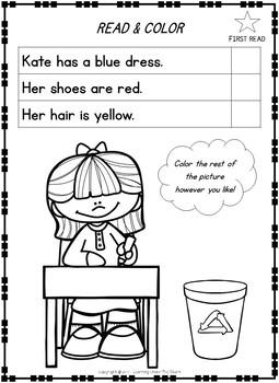 Kindergarten Reading Comprehension and 1st Grade Reading Comprehension