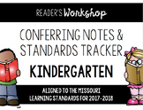 Kindergarten Reading Conferring EDITABLE - Missouri Learning Standards