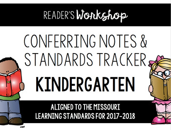 Kindergarten Reading Conferring EDITABLE - Missouri Learning Standards