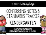 Kindergarten Reading Conferring EDITABLE - Missouri Learni