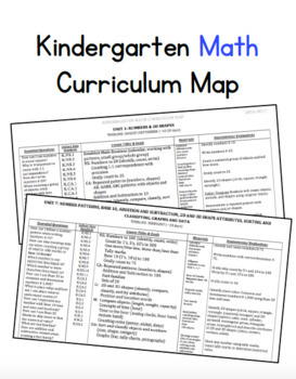 Curriculum map editable teaching resources teachers pay teachers kindergarten math curriculum map editable kindergarten math curriculum map editable fandeluxe Images