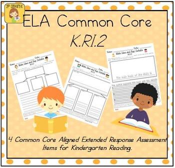 Kindergarten Reading Extended Response Set K.RI.2
