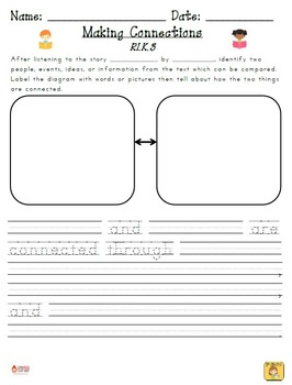 Kindergarten Reading Extended Response Set K.RI.3