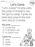 Ending Blends Reading Fluency & Comprehension Passages (Fi