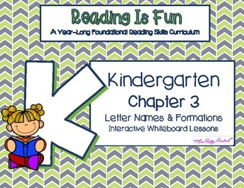 Reading Is Fun: K Foundational Reading Skills Chapter 3