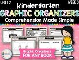 Kindergarten Reading Graphic Organizers (Unit 2, Week 3)